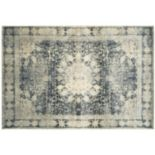 StyleHaven Evans Distressed Medallion Framed Rug