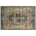 StyleHaven Evans Regal Traditions Framed Floral Rug