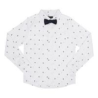 Boys 8-20 French Toast Button-Down Bow-Tie Shirt