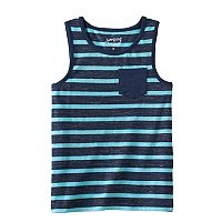 Boys 4-10 Jumping Beans® Slubbed Striped Tank