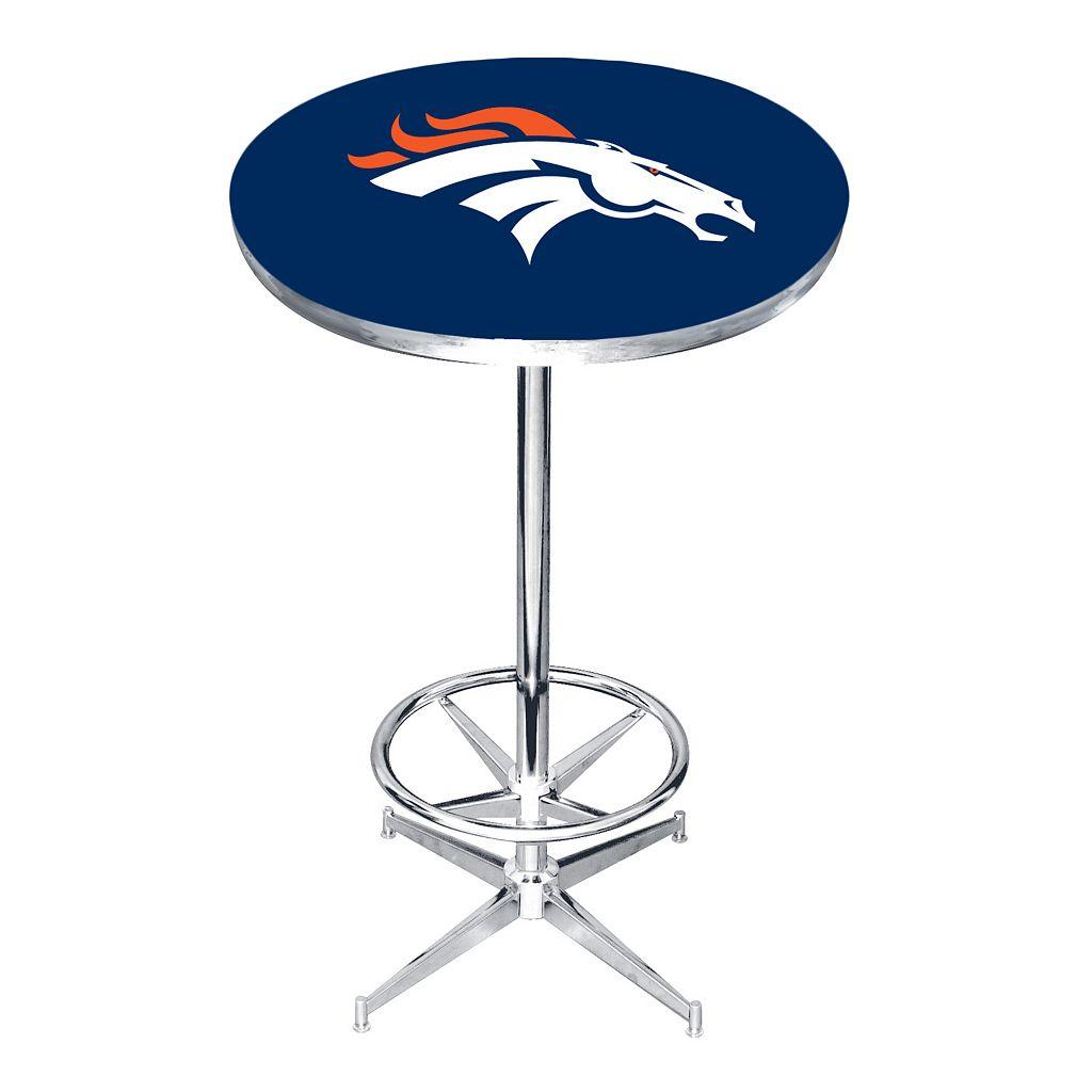 Denver Broncos Pub Table