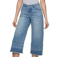 Women's Jennifer Lopez Release Hem Cropped Jeans