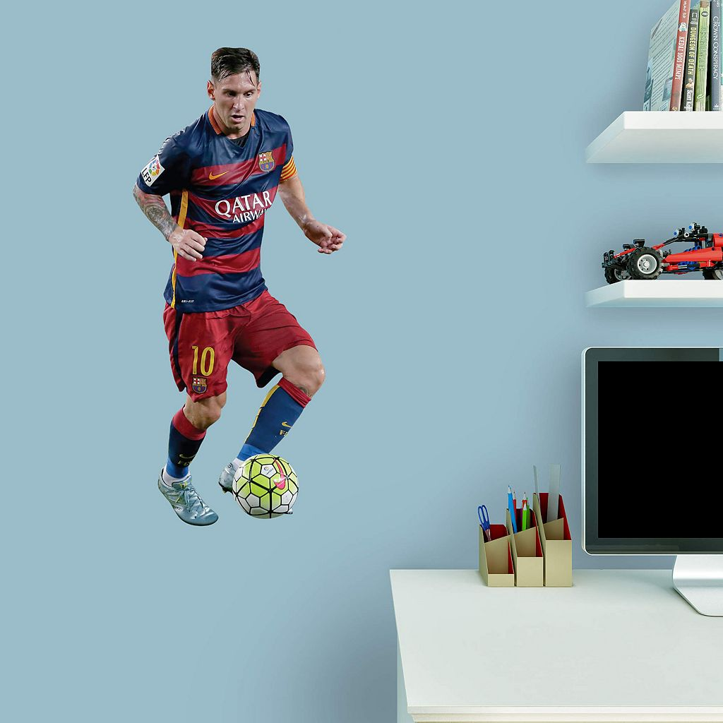 FC Barcelona Lionel Messi Wall Decal by Fathead
