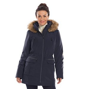 1cb23c53ffbfb Plus Size Excelled Hooded Long Puffer Coat
