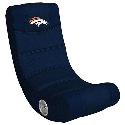 Denver Broncos Bluetooth Video Gaming Chair