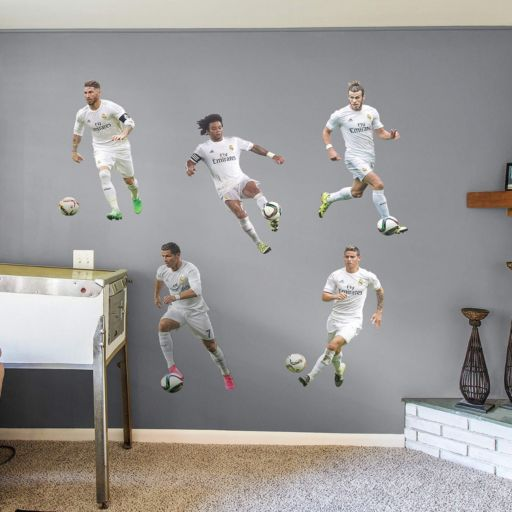 Real Madrid CF Player Collection Wall Decals by Fathead