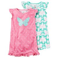 Girls 4-10 Carter's 2-pc. Nightgown Set