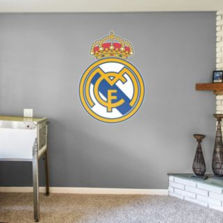 Real Madrid CF Logo Wall Decal by Fathead