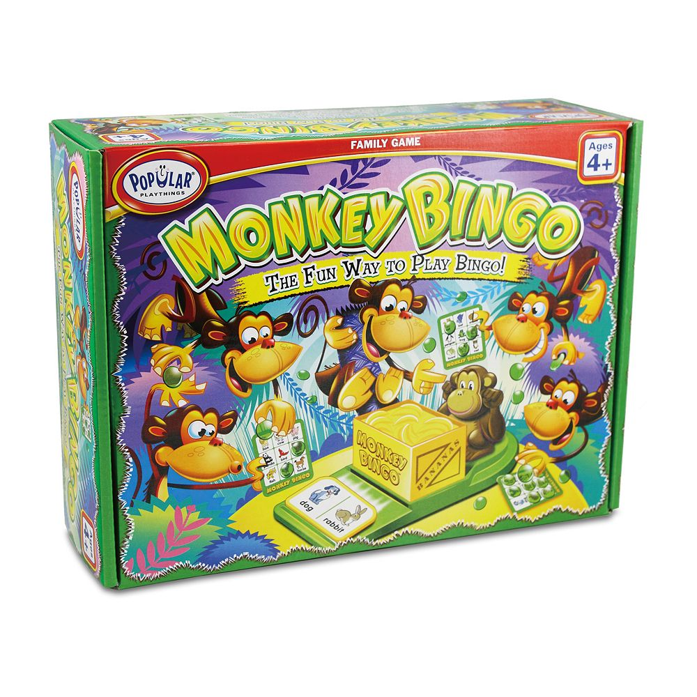 Monkey Bingo by Popular Playthings