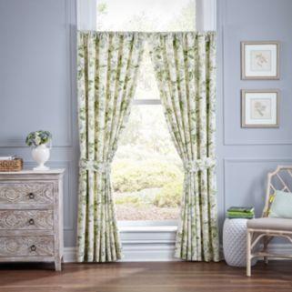 Waverly 2-pack Fleuretta Window Curtain