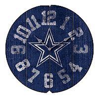 Dallas Cowboys Vintage Round Clock