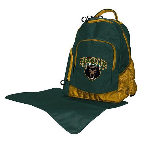 Baylor Bears Lil' Fan Diaper Backpack