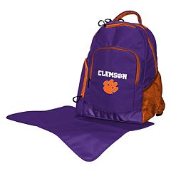 Clemson Tigers Lil' Fan Diaper Backpack