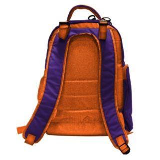 Clemson Tigers Lil' Fan Diaper Backpack