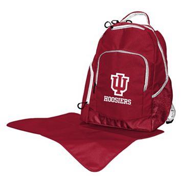 Indiana Hoosiers Lil' Fan Diaper Backpack