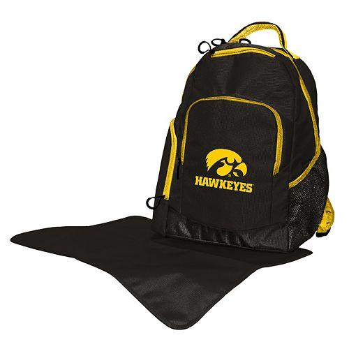 Iowa Hawkeyes Lil' Fan Diaper Backpack