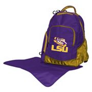 LSU Tigers Lil' Fan Diaper Backpack