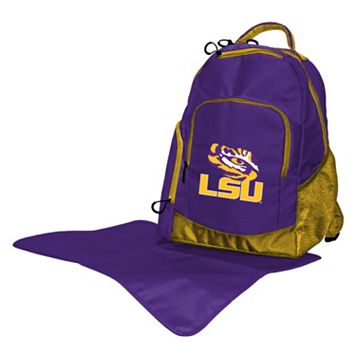 LSU Tigers Lil' Fan Diaper Backpack
