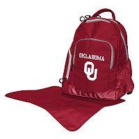 Oklahoma Sooners Lil' Fan Diaper Backpack