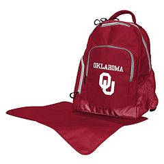 Oklahoma Sooners Lil' Fan Diaper Backpack