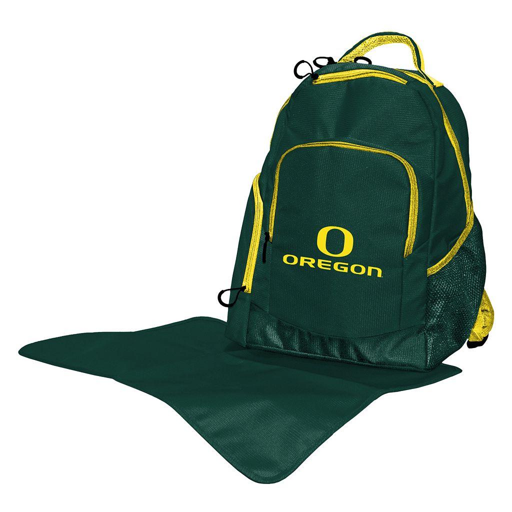 Oregon Ducks Lil' Fan Diaper Backpack