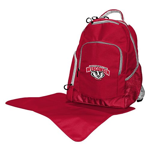 Wisconsin Badgers Lil' Fan Diaper Backpack