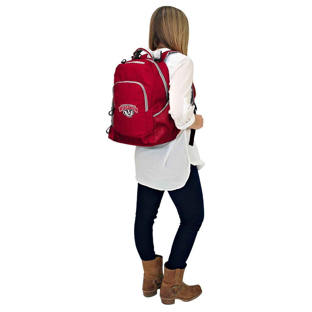 Wisconsin Badgers Lil' Fan Diaper Backpack