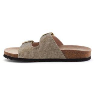 SONOMA Goods for Life™ Women's Buckle Slide Footbed Sandals