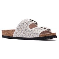 SONOMA Goods for Life™ Women's Buckle Slide Footbed Sandals