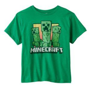 Boys 8-20 Minecraft Creepers Tee