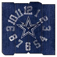 Dallas Cowboys Vintage Square Clock