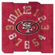 San Francisco 49ers Vintage Square Clock