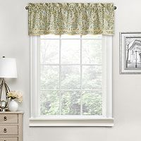 Waverly Paisley Verveine Window Valance