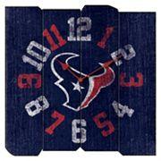 Houston Texans Vintage Square Clock