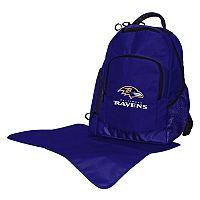 Baltimore Ravens Lil' Fan Diaper Backpack