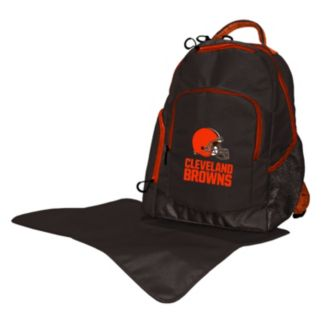 Cleveland Browns Lil' Fan Diaper Backpack