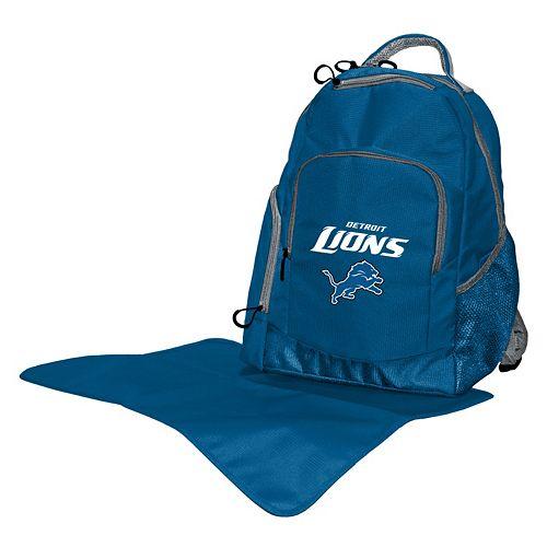 Detroit Lions Lil' Fan Diaper Backpack