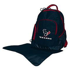 Houston Texans Lil' Fan Diaper Backpack