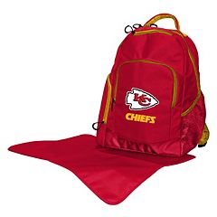 Kansas City Chiefs Lil' Fan Diaper Backpack