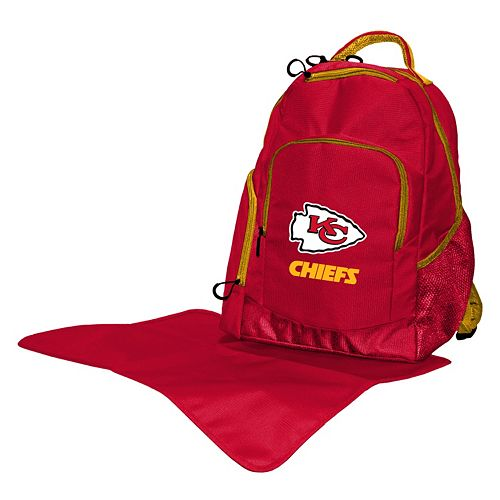 Kansas City Chiefs Lil' Fan Diaper Backpack