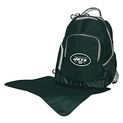 New York Jets Lil' Fan Diaper Backpack