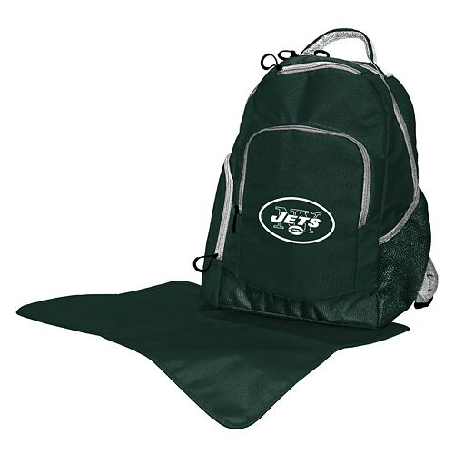New York Jets Lil' Fan Diaper Backpack