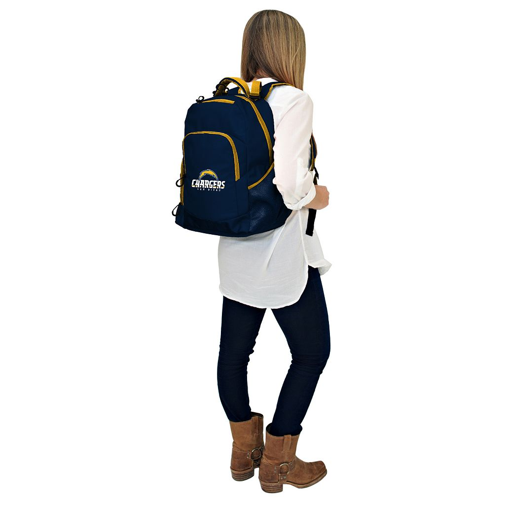 San Diego Chargers Lil' Fan Diaper Backpack