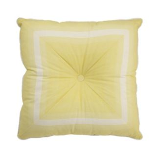 Waverly Paisley Verveine Tufted Throw Pillow