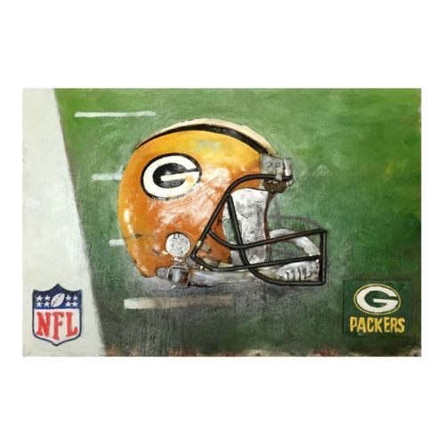 Green Bay Packers Metal Wall Art