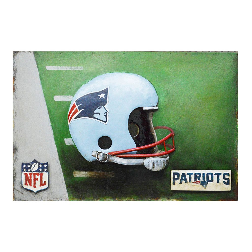 New England Patriots Metal Wall Art