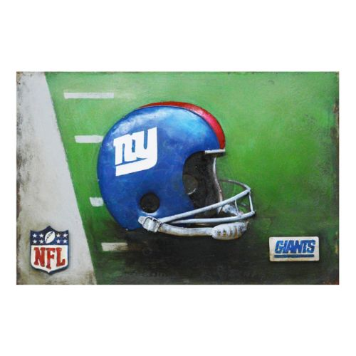 New York Giants Metal Wall Art