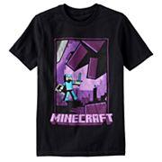 Boys 8-20 Minecraft Tee
