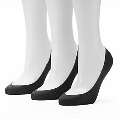 Women's Apt. 9® 3-pk. Extra Low Cut Non-Slip Liner Socks