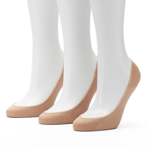f91ef4262969 Women s Apt. 9® 3-pk. Extra Low Cut Non-Slip Liner Socks